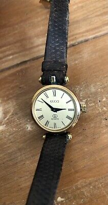 Vintage Ladies Womens Gucci Multicolor Wrist Watch