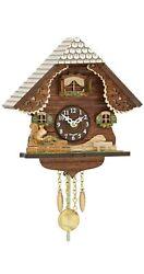 Kuckulino Black Forest Clock with quartz movement and cuckoo ch.. TU 2053 PQ NEW