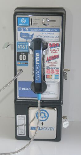 Payphone Vintage Western Electric Bell South Refurbished For Home Use