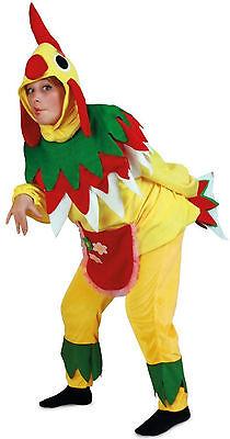3 teiliges Damen Kostüm Henne Huhn Hühnchen Gr. L o. M  Bauernhof Tierwelt Farm (Bauern Kostüm)