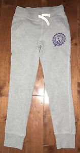 Girl's size 7 Roots track pants
