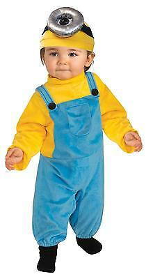 INFANT TODDLER DESPICABLE ME MINION STUART COSTUME SIZE 2-4T RU510052 - Infant Minion Costume Despicable Me