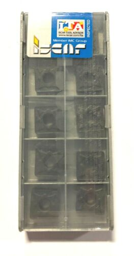 Iscar Carbide Inserts SNMG 433-NR Grade IC428 Indexable Turning Inserts 10 Pack
