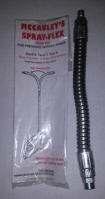 New - Mccauleys Spray-flex Flexible Goose Neck Spray Gun Wand - 3000 Psi