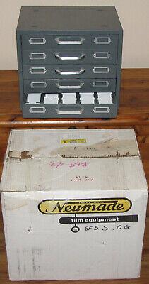 Neumade Slide Cabinet - Five-drawer Metal Used Professional 2x2 Slide Storage