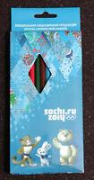 12 Lápices De Color Sochi 2014. 12 Color Pecnils Sochi 2014 Olympic Games -  - ebay.es