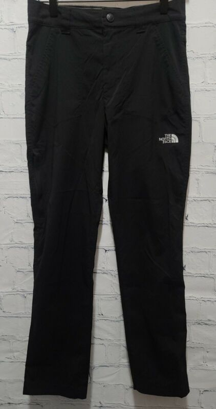 Boys The North Face Pants Asphalt Black Hiking Rain Wind Pant Large LG 14/16 A5