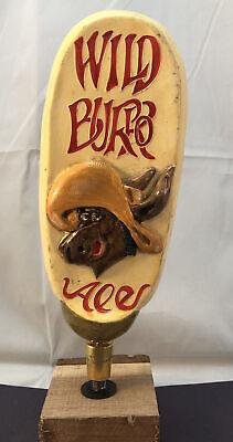 Wild Donkey Brewing Wild Burro Ale Beer Tap Handle Rare Figural Beer Tap Handle