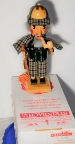 RARE STEINBACH SHERLOCK HOLMES Nr 681 - ORIGINAL BOX, NEVER DISPLAYED!
