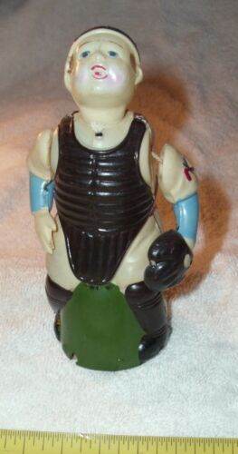 NEW YORK YANKEES YOGI BERRA CATCHER CELLULOID TOY OCCUPIED JAPAN 1940s BODY PART