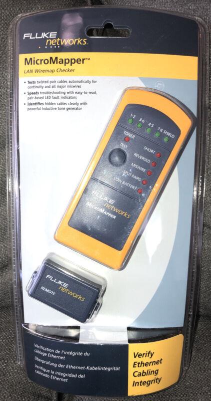 Fluke Networks MT-8200-49A MicroMapper LAN Ethernet Wiremap Tester