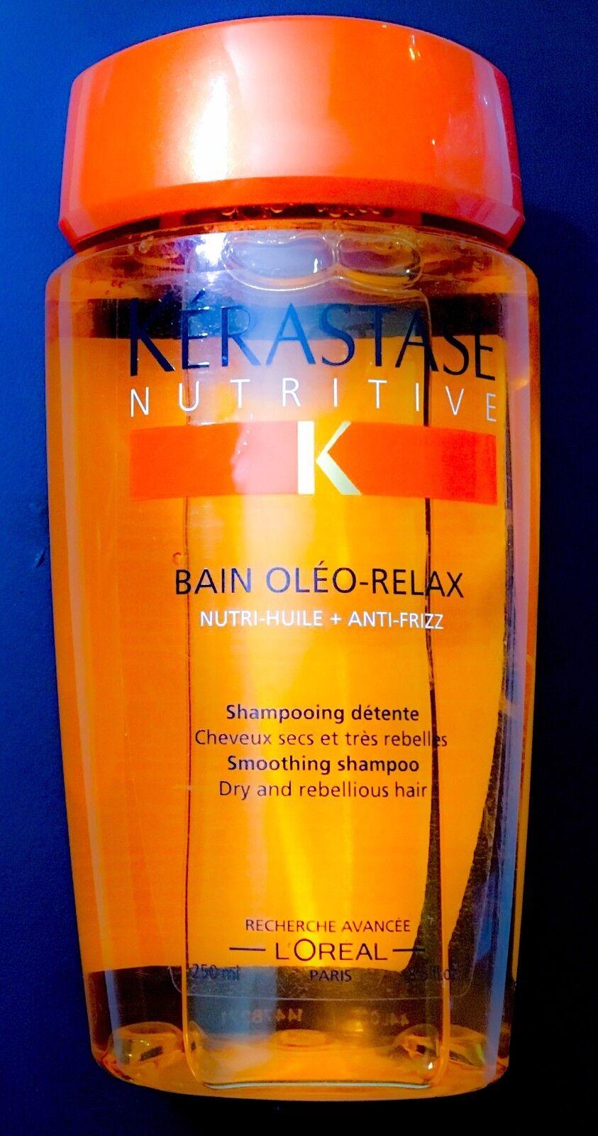 NEW! Kerastase Nutritive Shampoo Women Hair Treatment Smooth