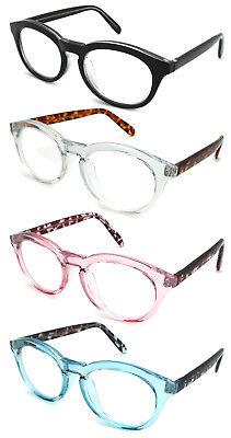 Edge I-Wear Oval Frame Two Tone Reading Glasses -