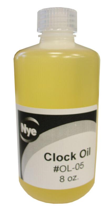 New Nye Clock Oil - 8 ounce bottle - Non-Corrosive - U.S. Made (OL-05)