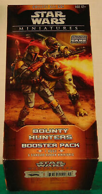 STAR WARS MINIATURES GAME: Bounty Hunters - Huge Booster Pack Miniatures Huge Pack