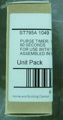 Honeywell St795a1049 Purge Timer Plug-in 60 Seconds