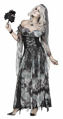 Adult Sexy Ghost Cemetery Bride Costume - Ghost Bride Kostüm