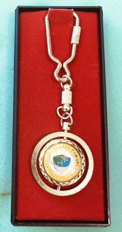 Jaycees JCI XXXVII World Congress Seoul Korea 1982  Keychain New In Box