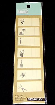Cute Craft Ideas (K&C Company Smash Sticky Notes Cute Ideas Music Lightbulb Bug Pencil 70)