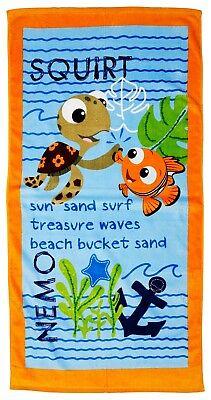 Extragroß - Disney Findet Nemo Dory Strand Handtuch Jungen Mädchen Kinder Blau ()