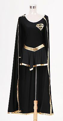 DC Comics Dark Supergirl Uniform Cosplay Costume Tailored