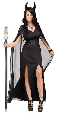 Keeper Of The Damned Women's Halloween Costume,  Dark Devil Womens Costume
