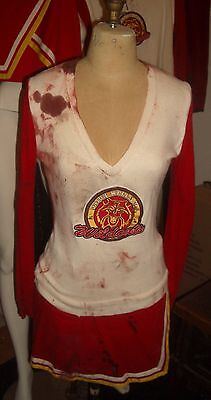 screen used Heroes Hayden Panettiere Claire Bennet Bloody cheerleader costume  - Bloody Cheerleader