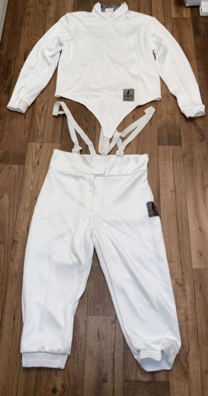 Absolute Fencing AF Male Jacket Elite Stretch 350N Size 44R Jacket & Pants