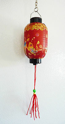 Japanese Chinese Asian Oriental Paper Lantern Light Miniature Dollhouse Lights