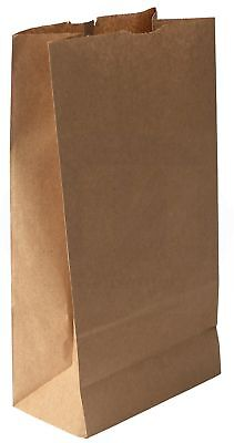Grocerylunch Bag Kraft Paper 8 Lb Capacity 100 Count Brown