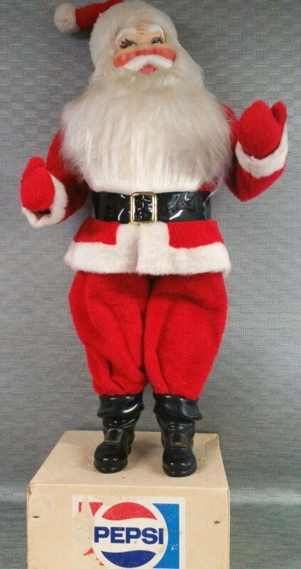 Pepsi cola Collectibles 39 inch Santa Claus in original box.