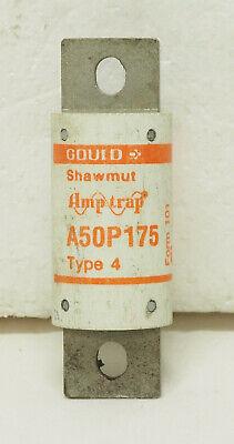 Gould Shawmut Amp-trap A50p175 Type 4 Fuse - 175 Amps500 Vacform 101