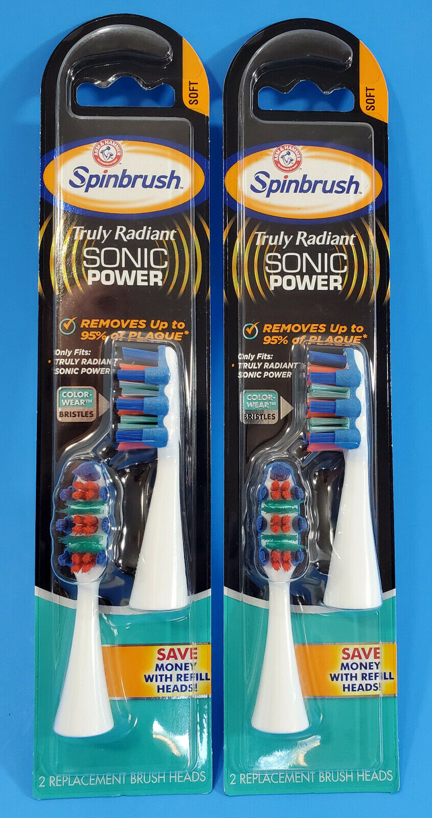 Arm and Hammer SpinBrush Powered Toothbrush Pro Clean Sonic