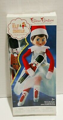 Elf on the Shelf Girl Claus Couture Collection Snowy Sugar-Plum Duo *NO DOLL*