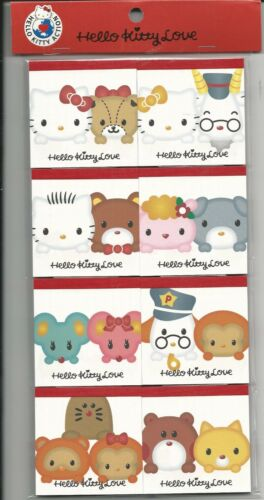 Sanrio Hello Kitty Love Mini Notepads Pack of 8