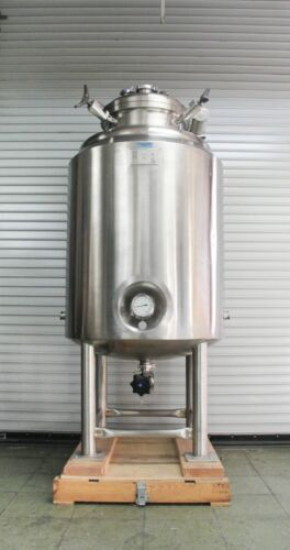 W.H.E. BioSystems 650L Stainless Steel Jacketed Process Vessel Tank  (5739)