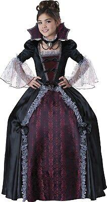 Child Vampiress Of Versailles Victorian Vampire Costume