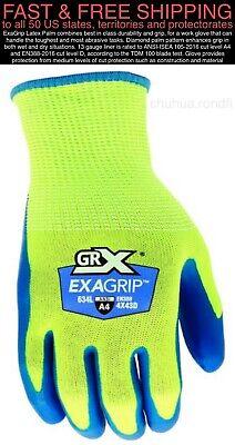 Free Ship New 3 Pairs Grx Mens Cut Level 4 A4 Gloves Similar Milwaukee Dewalt