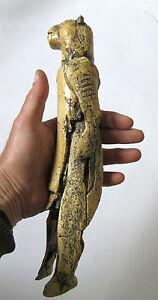 Paleolithic figurine Löwenmensch /  Lion Man ,  Germany - professional replica