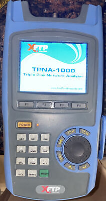 Trilithic Tpna-1000 Triple Play Network Analyzer With A Case Free Shipping