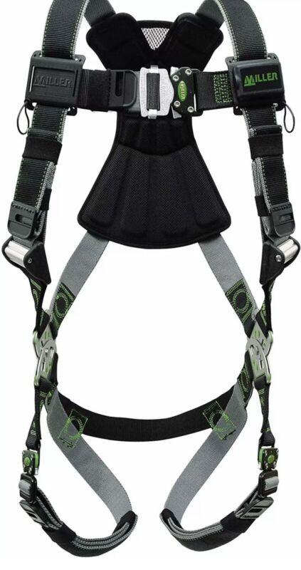 miller revolution full body safety harness Model RDT-QC/UBK; NEW & Sealed