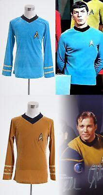 Star Trek TOS The Original Series Kirk Shirt Costume Halloween Party Show Event - Star Trek Halloween Party