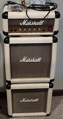 VERY RARE COLOR Vintage White Marshall Mini Stack Lead 12 Free Shipping