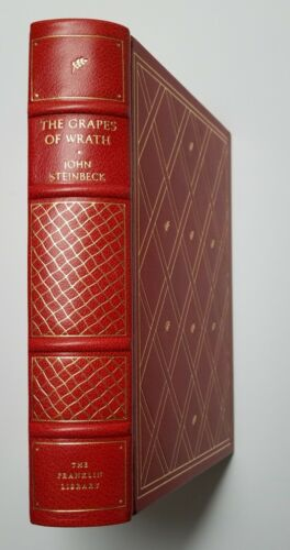 Franklin Library THE GRAPES OF WRATH by John Steinbeck Limited Edition 1975 Fine