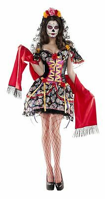 Party King Women's La Catrina Shaper Costume Costume Medium M 8-10
