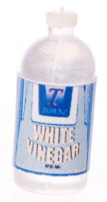 Casa de Muñecas Blanco Vinagre Botella Grande Miniatura Compra Accesorio Cocina