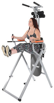 Powered Inversion Table - Conquer 6-in-1 Inversion Table Power Tower Home Gym 2.0