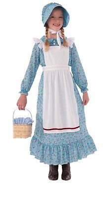 Forum Novelties Pioneer Girl History Western Child Girls Halloween Costume 76234