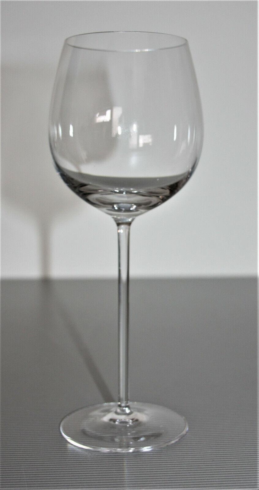 6 verre à vin blanc simple avec appel d'offres manche h 21,5 cm - verres a vin
