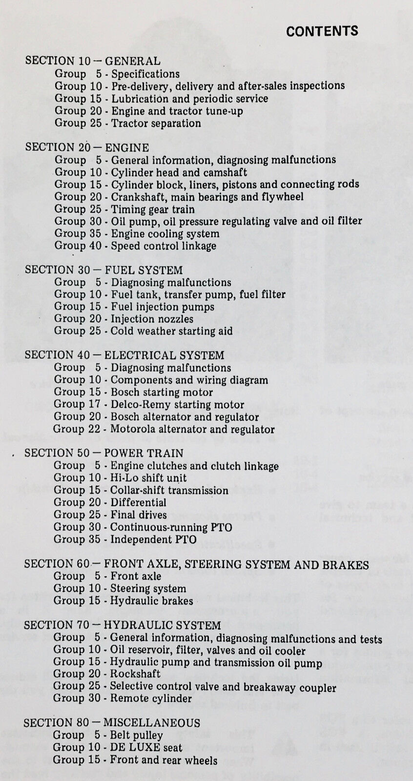 TECHNICAL SERVICE MANUAL FOR JOHN DEERE 1530 TRACTOR on john deere 1530 lights, john deere 1530 parts, john deere 1530 steering, new holland 1530 wiring diagram,